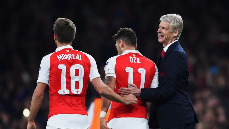 Wenger's side are level on points at the top of the Premier League