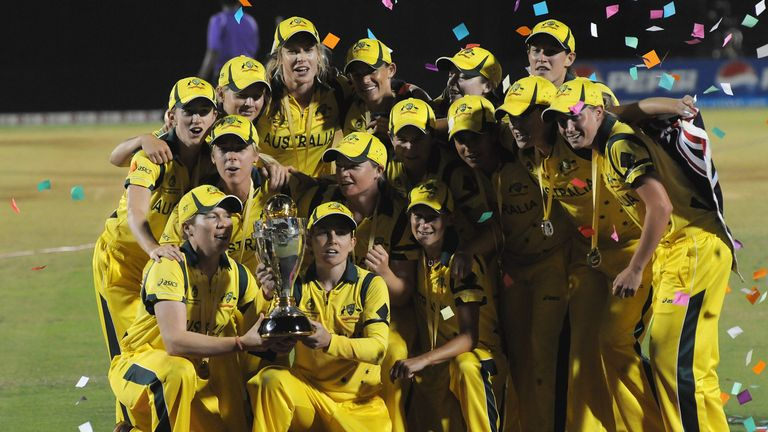 Australia are the defending Women's Cricket World Cup champions