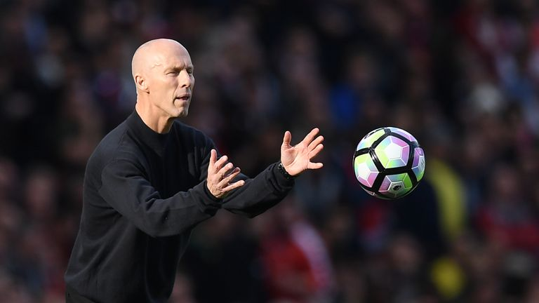 Bradley is still waiting for his first win as Swansea boss