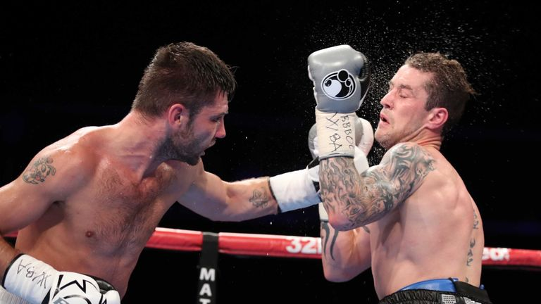 Kiryl Relikh pushed Ricky Burns all the way in Glasgow