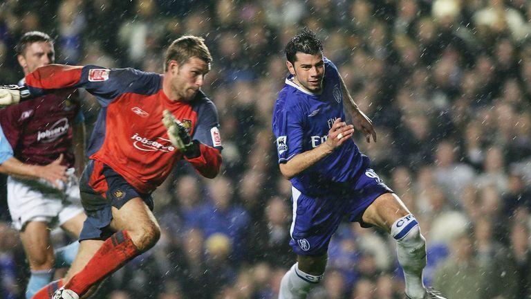 Mateja Kezman scored the only goal for Chelsea