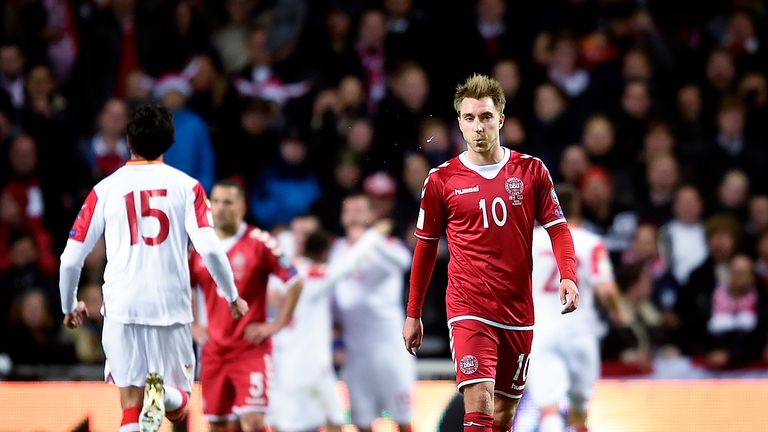 Pochettino hopes Christian Eriksen's Denmark disappointments will not linger now he is back in London