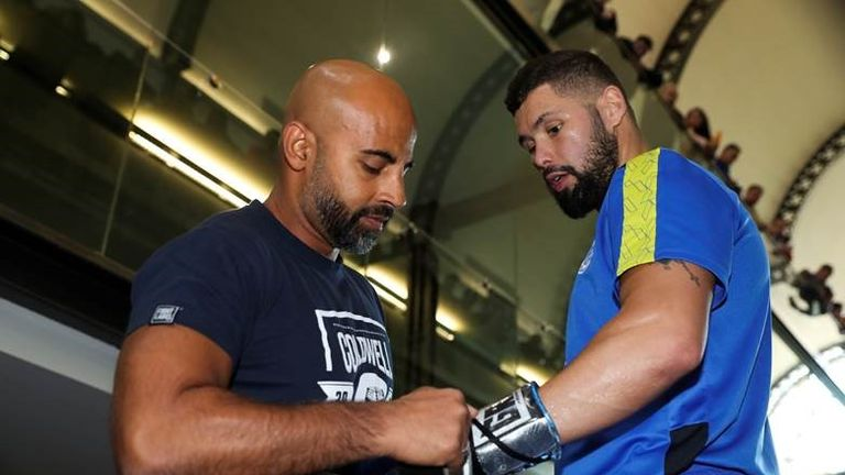 Dave Coldwell and Tony Bellew
