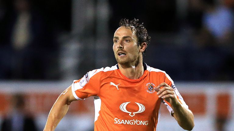 Luton Town striker Danny Hylton has won the PFA Fans' Player of the Month award for February