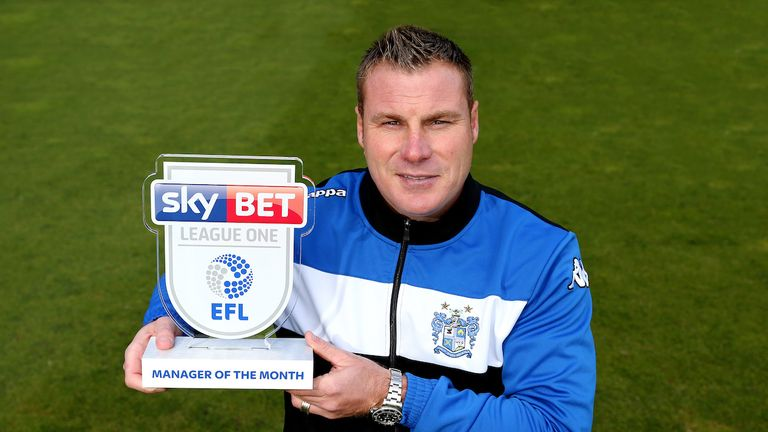 David Flitcroft's Bury have climbed up the League One table. (Pic: Matt McNulty/JMP)