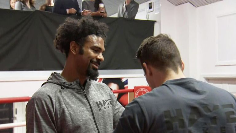 David Haye is still looking at a Wembley summer showdown with Anthony Joshua.