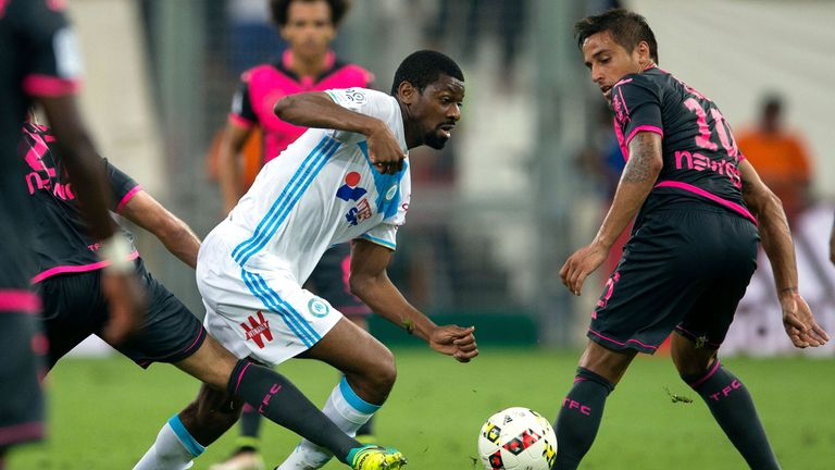 Abou Diaby (left) has been ruled out for four months