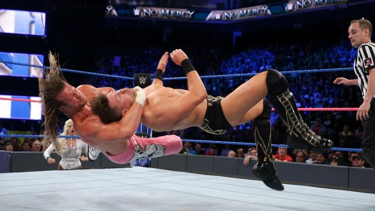 Ziggler defeated The Miz at No Mercy to save his career