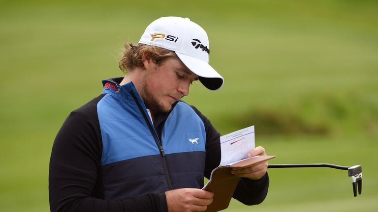 Eddie Pepperell had to go through Q-School to retain his card for 2017