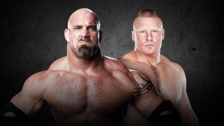 Goldberg and Brock Lesnar will do battle at Survivor Series