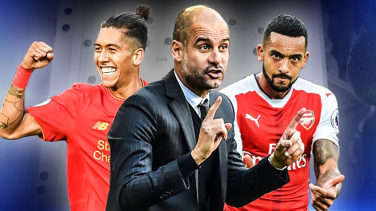Liverpool, Manchester City and Arsenal are using pressing tactics this season