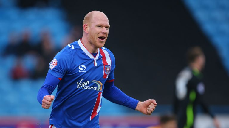 Jason Kennedy has scored five league goals for Carlisle United in October