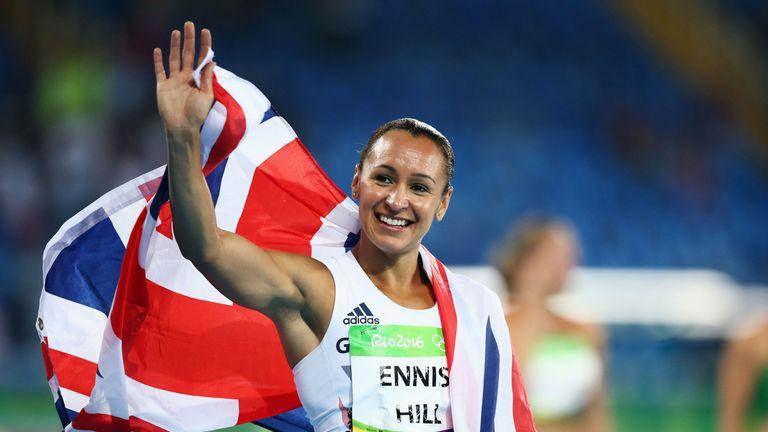 Dame Jessica Ennis-Hill was given a Lifetime Achievement prize