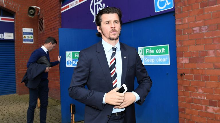 Joey Barton has left Rangers after mutually terminating his contract