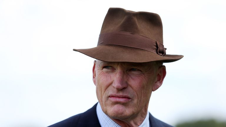 Trainer John Gosden during day two of the King George Weekend at Ascot Racecourse.
