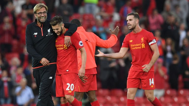 Lallana admits he is loving life under Jurgen Klopp at Liverpool