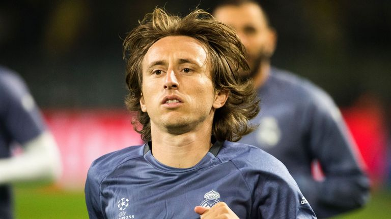 Luka Modric will face the media on Wednesday in Madrid