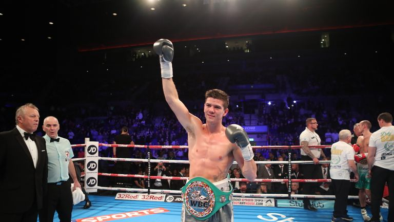 Campbell successfully defended his WBC Silver title against Derry Mathews in October