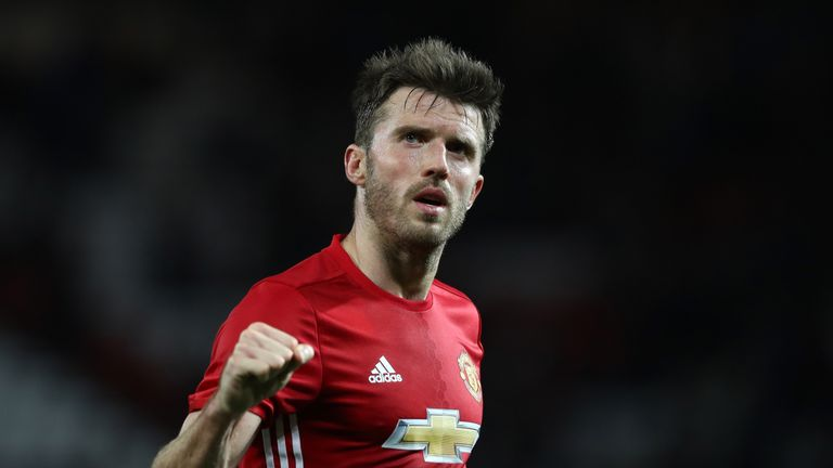 Jose Mourinho says he wishes Michael Carrick was 10 years younger