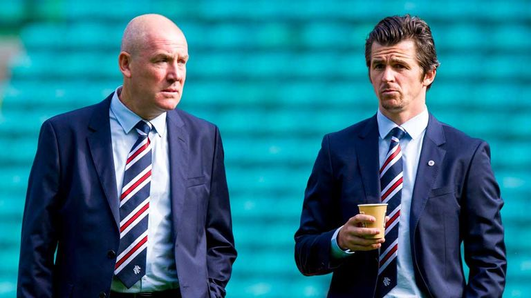 Mark Warburton and Barton rowed after the 5-1 defeat to Celtic