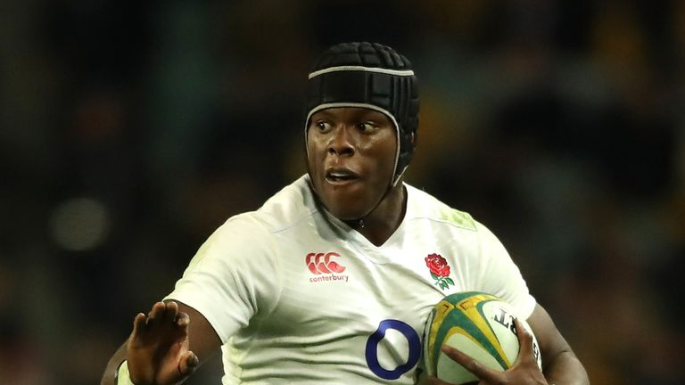 Maro Itoje is one of five changes to the side which defeated Australia in December
