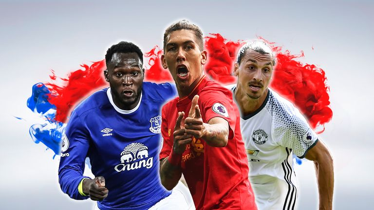 Liverpool travel to rivals Everton and Manchester United in December and January respectively