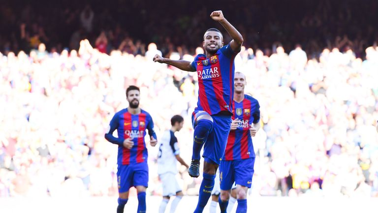 Rafinha has scored four goals in his last four appearances