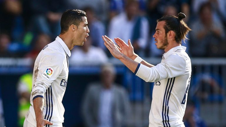 Cristiano Ronaldo scored his first goals in three games against Alaves