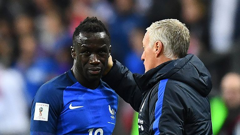 Bacary Sagna injured a hamstring while away with France