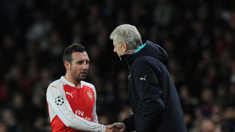 Santi Cazorla says Arsene Wenger has not hinted that he may be departing