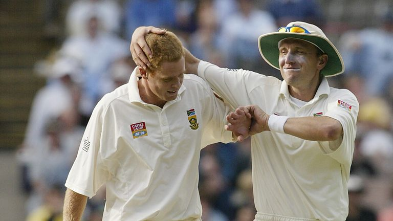 Shaun Pollock and Allan Donald led South Africa's attack in a decade full of fast bowling greats