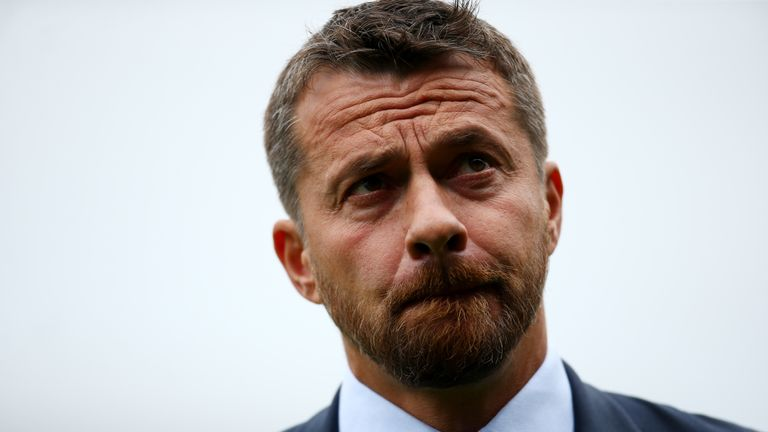Slavisa Jokanovic, manager of Fulham
