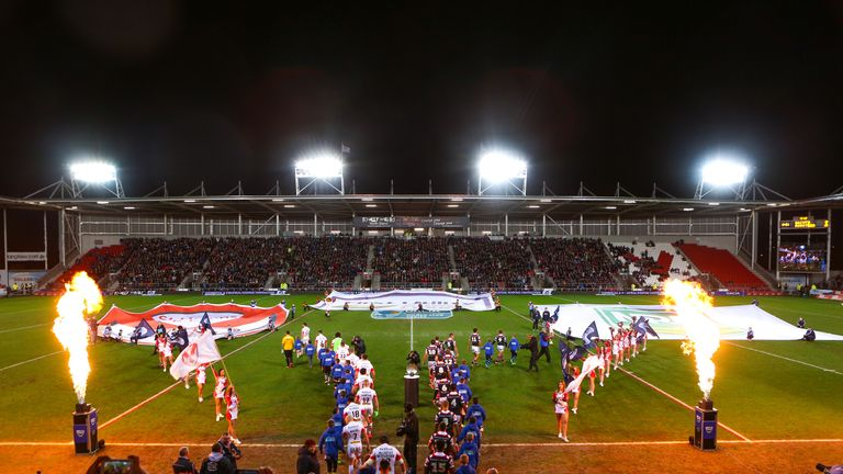St Helens took on the Roosters in this year's series