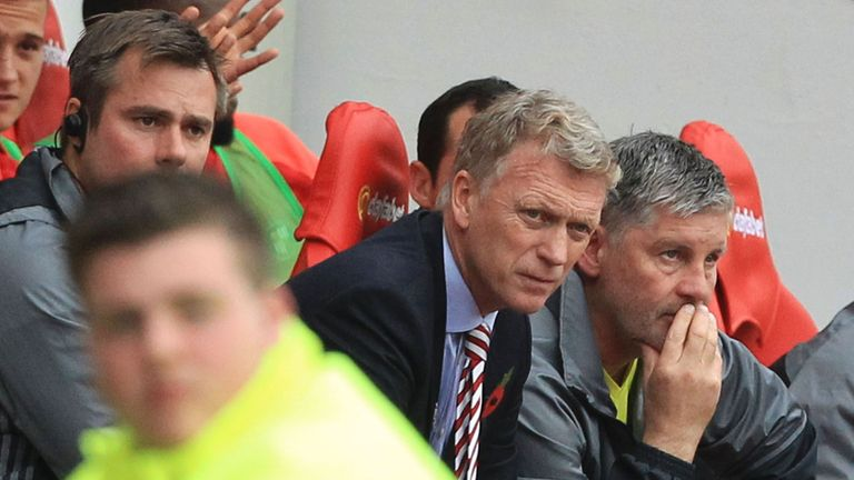 David Moyes is still waiting for his first win as Sunderland manager