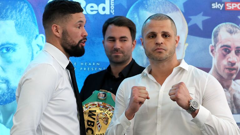 Tony Bellew and BJ Flores go head to head