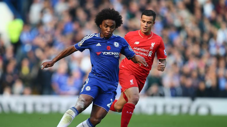 Tite says Coutinho is in front of Willian because 'this is his moment'