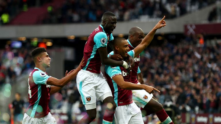 West Ham's last home win in the Premier League was against Sunderland on October 22