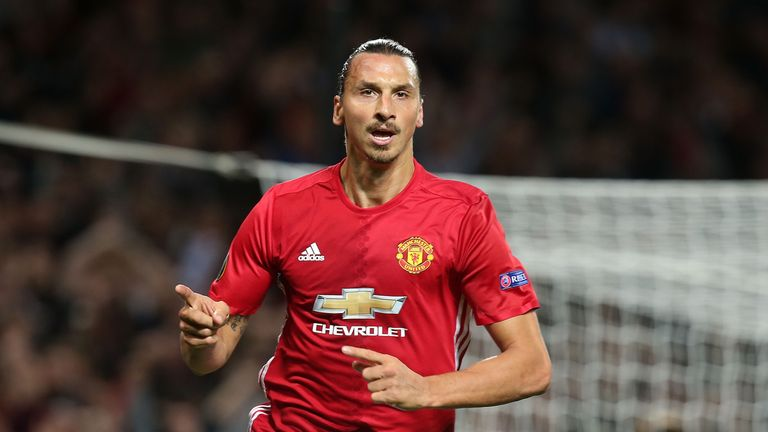 Zlatan Ibrahimovic Manchester United FC and FC Zorya Luhansk
