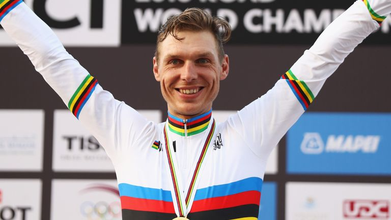 Tony Martin added to his previous world titles from 2011, 2012 and 2013