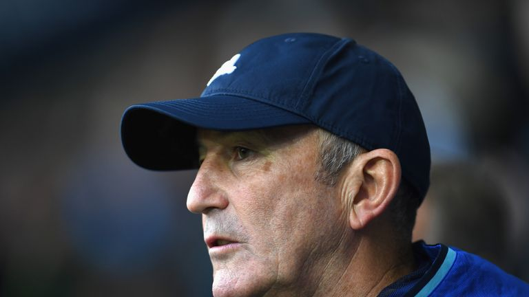 Tony Pulis thinks West Brom lacked belief against Manchester City