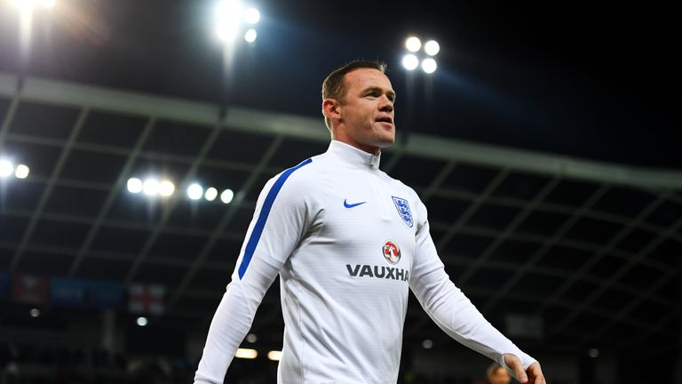 Wayne Rooney played 18 minutes as a substitute