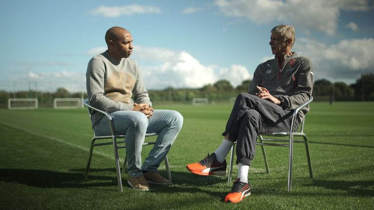 Thierry Henry met Wenger to discuss his 20 years at Arsenal