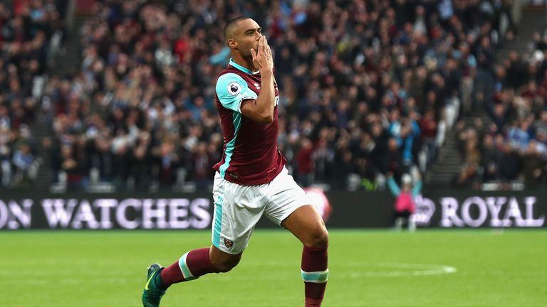 Winston Reid of West Ham United celebrates