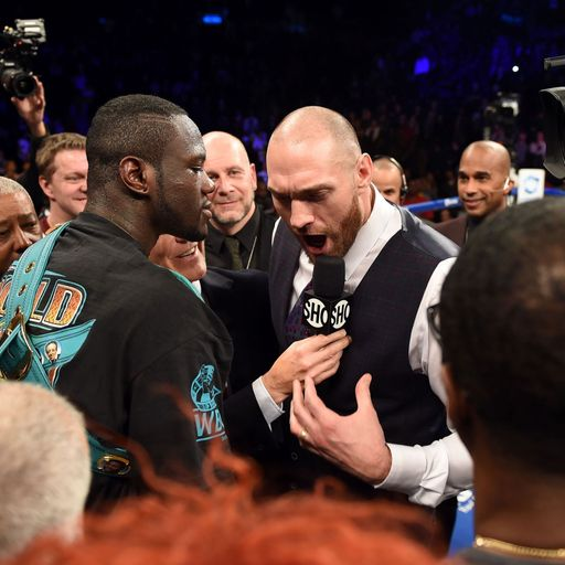 Fury and Wilder 'very close'