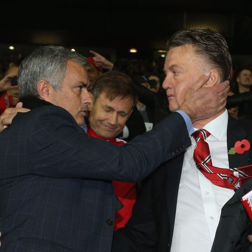 Mourinho the same as Van Gaal?