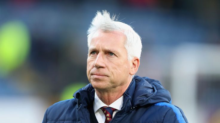 """Alan Pardew described Crystal Palace's defeat to Burnley as """"galling"""""""