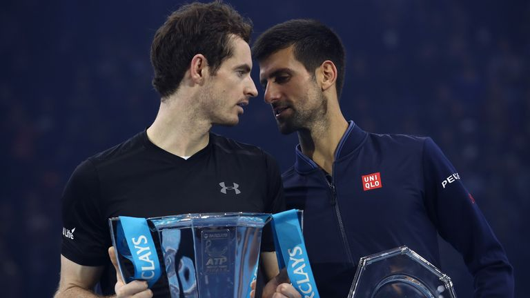 Petchey thinks it was important that Murray beat Novak Djokovic in the final