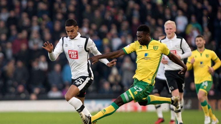Norwich midfielder Alex Tettey is suspended