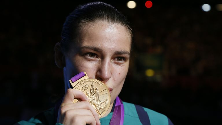 Five-time world amateur champion Taylor won Olympic gold at London 2012