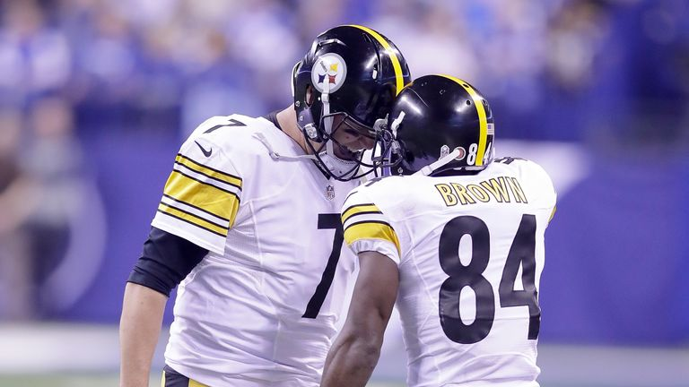Ben Roethlisberger and Antonio Brown have been a prolific partnership in Pittsburgh